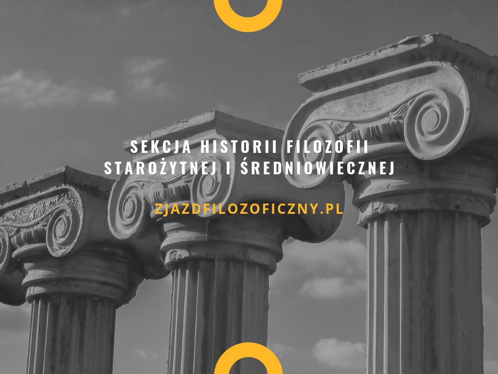 Sekcja Historii Filozofii Starożytnej iŚredniowiecznej