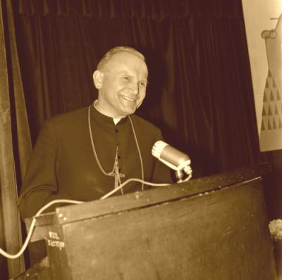 Karol Wojtyła-John Paul II at Catholic University of Lublin