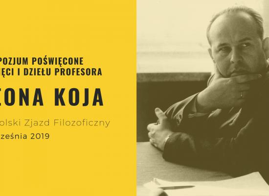 Sympozjum poświęcone pamięci i dziełu Profesora Leona Koja