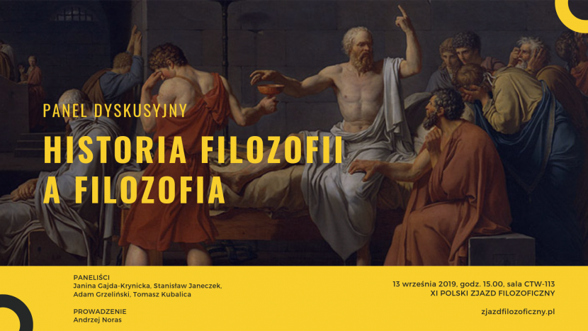 Historia filozofii a filozofia. Panel dyskusyjny